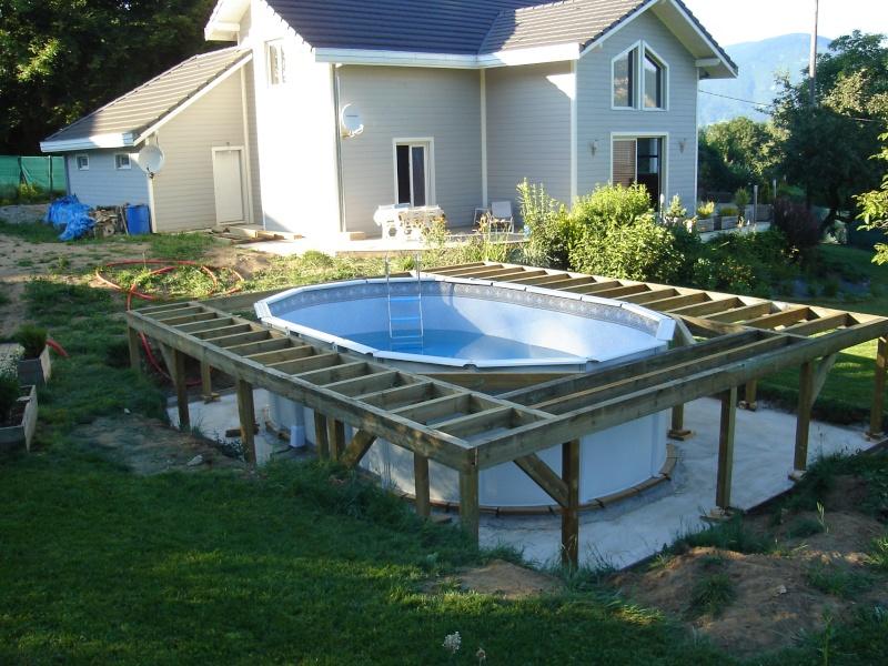 Fabriquer terrasse autour piscine
