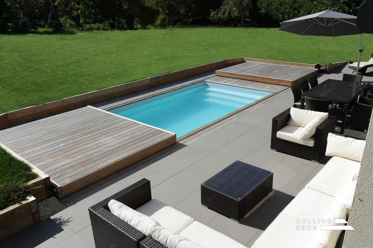 Terrasse mobile jacuzzi