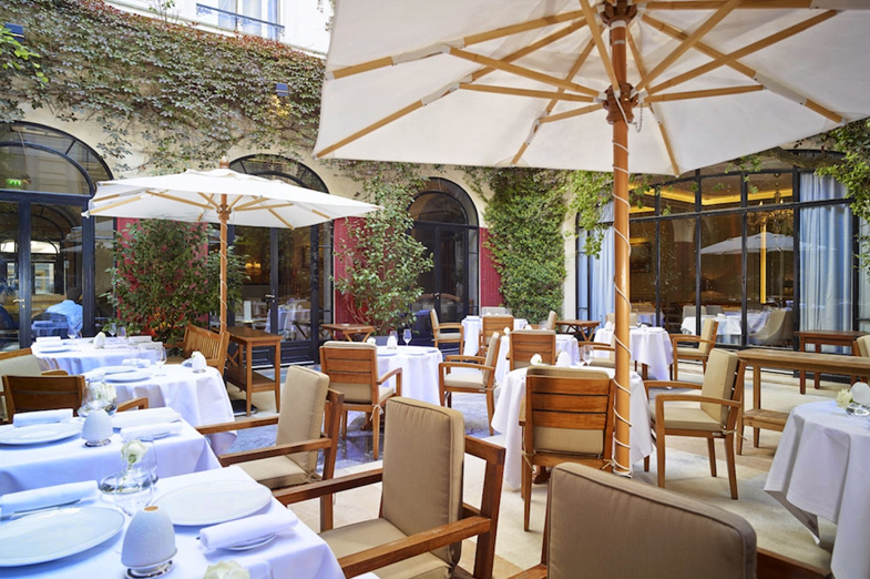 Restaurant terrasse a paris 8