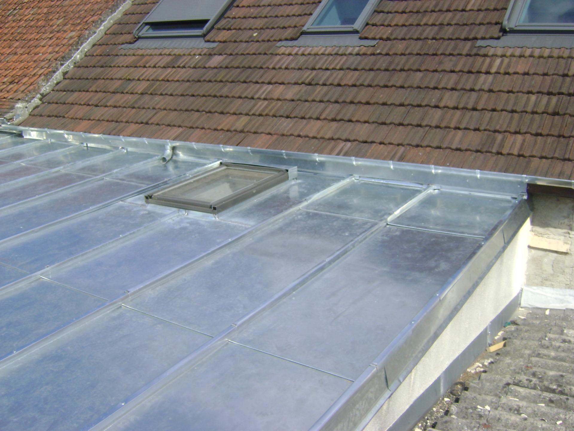 Terrasse zinc