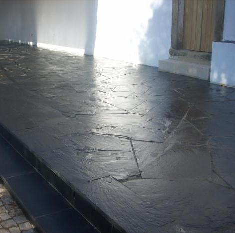Terrasse opus ardoise