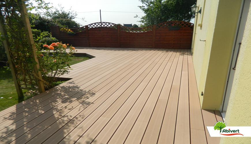 Terrasse bois prix composite