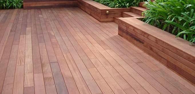 Terrasse bois exotique prix m2