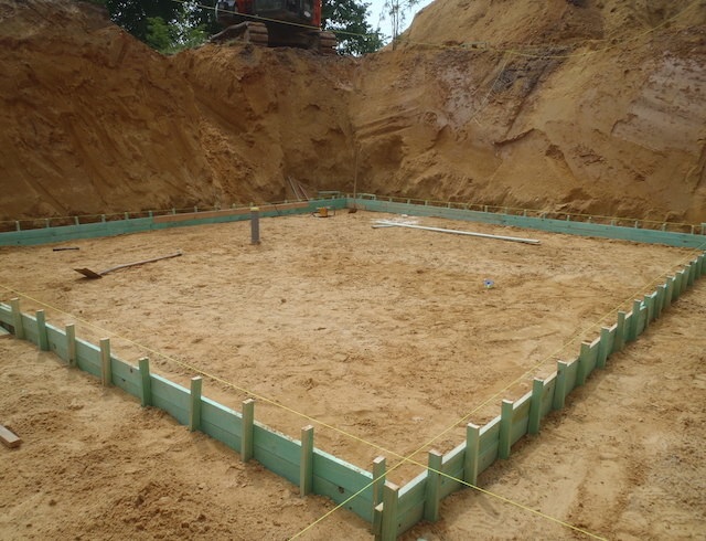 Terrassement et fondation