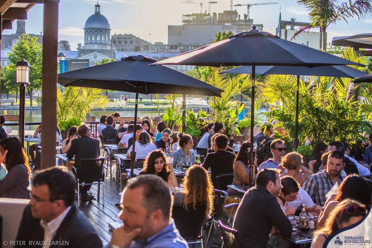 Café terrasse plateau mont-royal