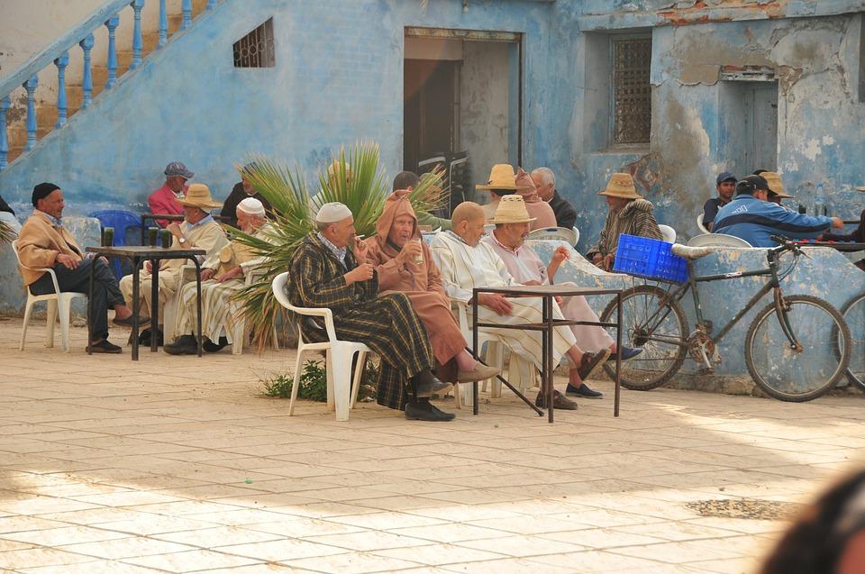 Terrasse café maroc