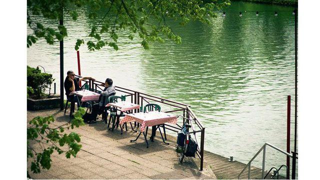 Restaurant terrasse paris gastronomique
