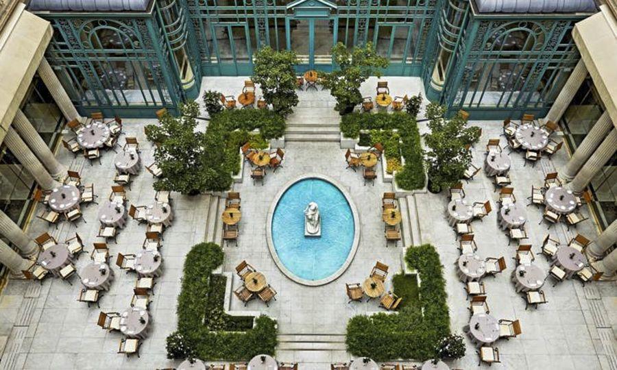 Terrasse hotel w barcelone