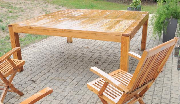 Salon de jardin bois ecologique - Mailleraye.fr jardin