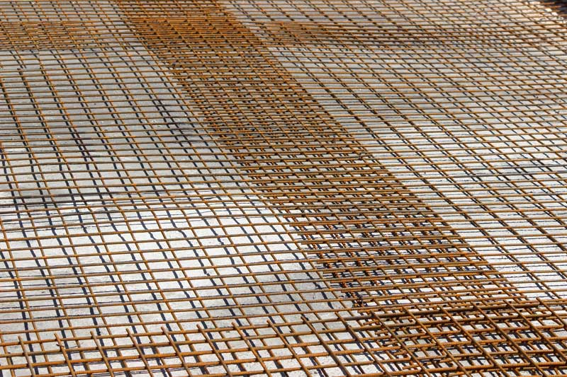 Terrasse beton fibré ou treillis