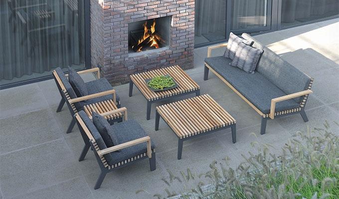 salon de jardin en resine chez truffaut jardin. Black Bedroom Furniture Sets. Home Design Ideas