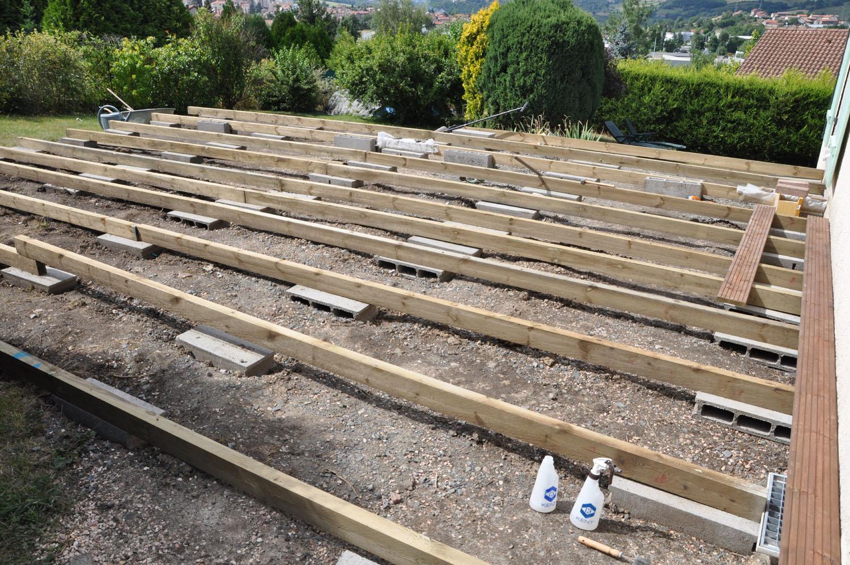 Construire Une Terrasse En Bois Mailleraye Fr Jardin
