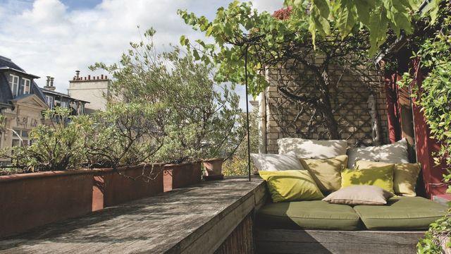 Terrasse paris dernier etage