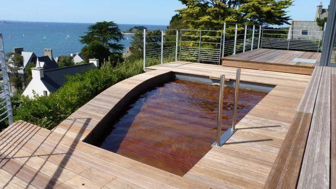 Terrasse amovible de piscine