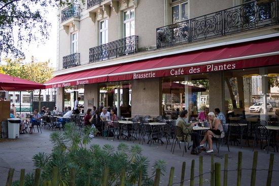 Terrasse cafe nantes