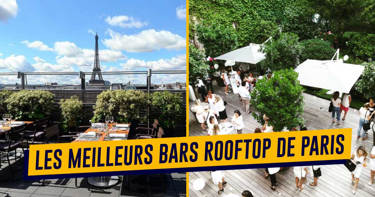 Meilleur terrasse bar paris