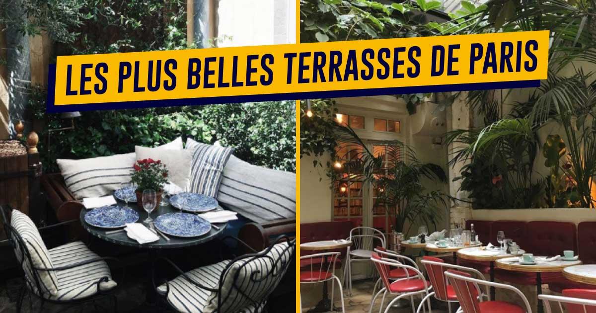Restaurant terrasse bord de seine paris