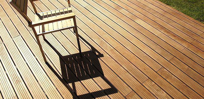 Terrasse bois video