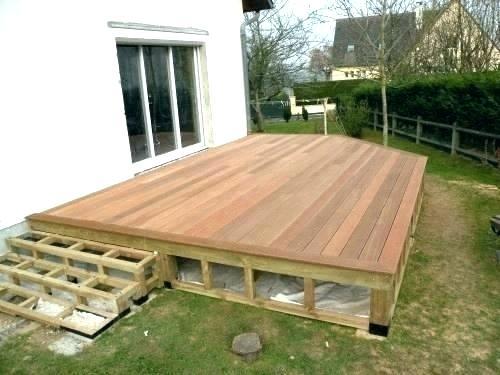 Faire une terrasse en bois pas cher