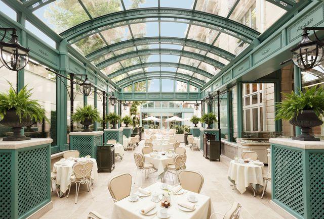 Restaurant terrasse quartier opera paris