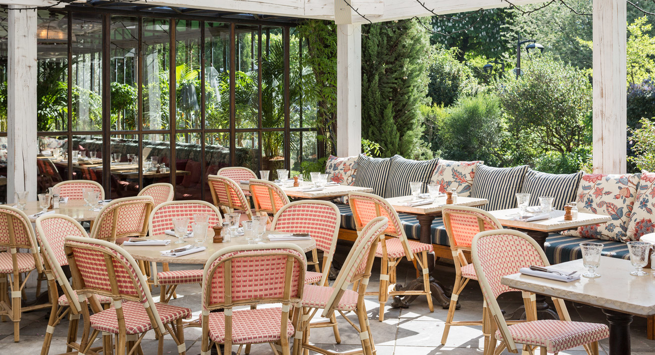 Restaurant terrasse verte paris