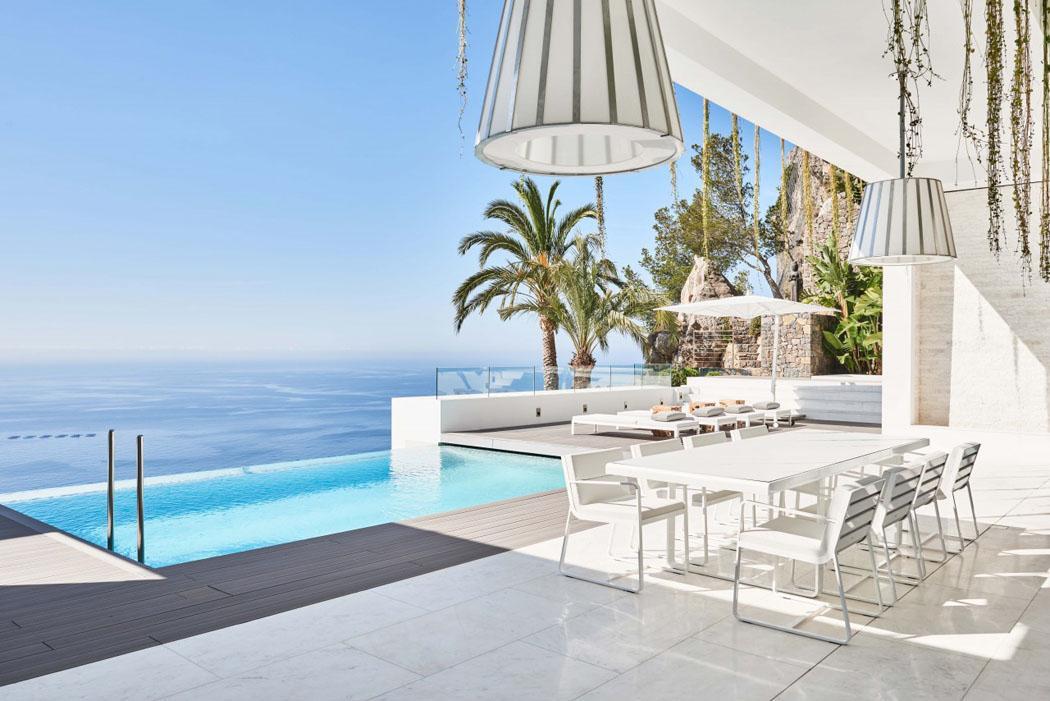 Terrasse avec une vue