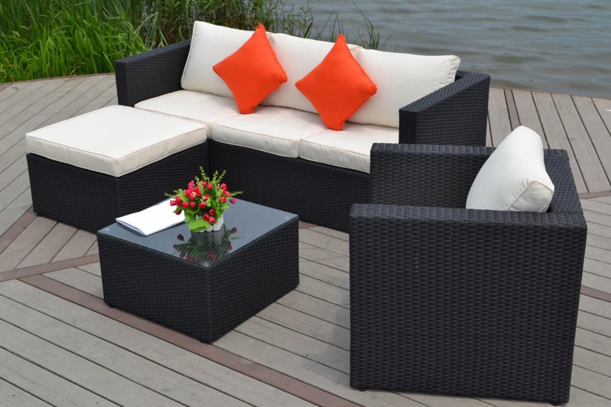 Salon de jardin fauteuil canape - Mailleraye.fr jardin